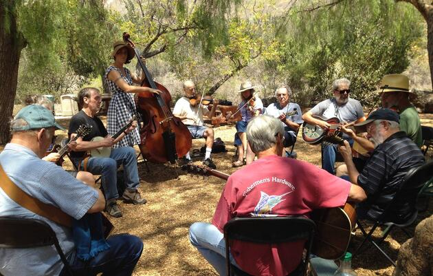 Old Time String Jam Band