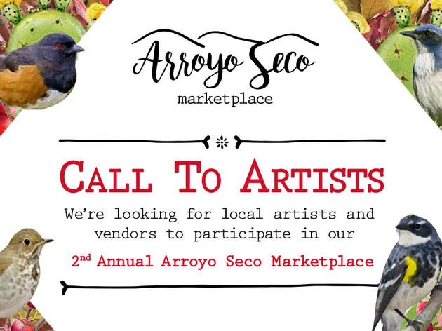 CALL TO ARTISTS: Arroyo Seco Marketplace