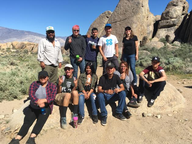 Audubon and YouthBuild Journey to the Owens Valley