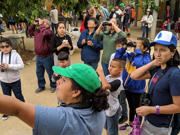 Flocks gather to celebrate Bird LA Day at the Audubon Center at Debs Park!