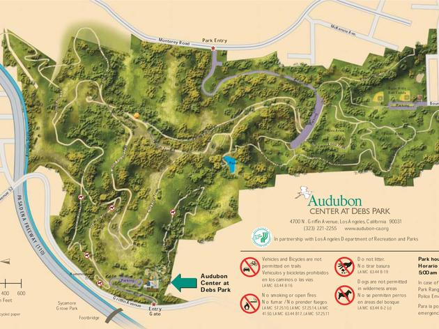 Hiking Trail Map