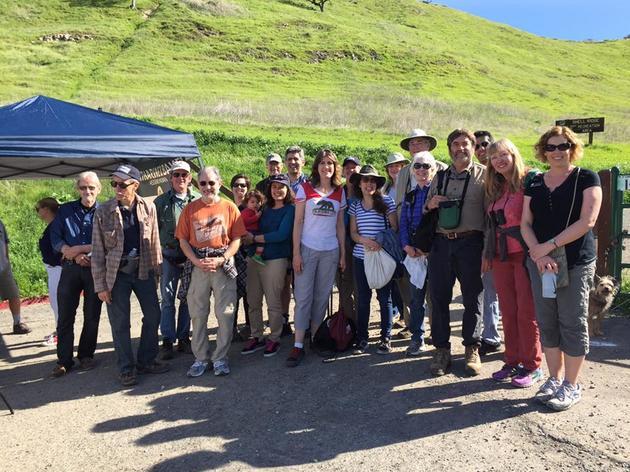 Mount Diablo Audubon Society joins Assemblywoman Catharine Baker for a morning bird walk