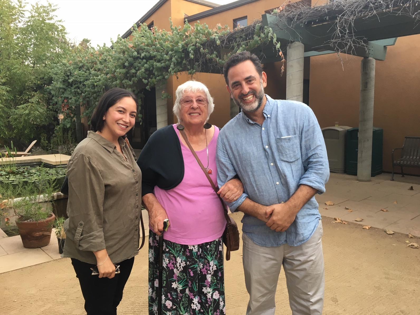 Sarah Rascon (MRCA), Carmela Gomes, Michael Kaddish (GRID-GLA)