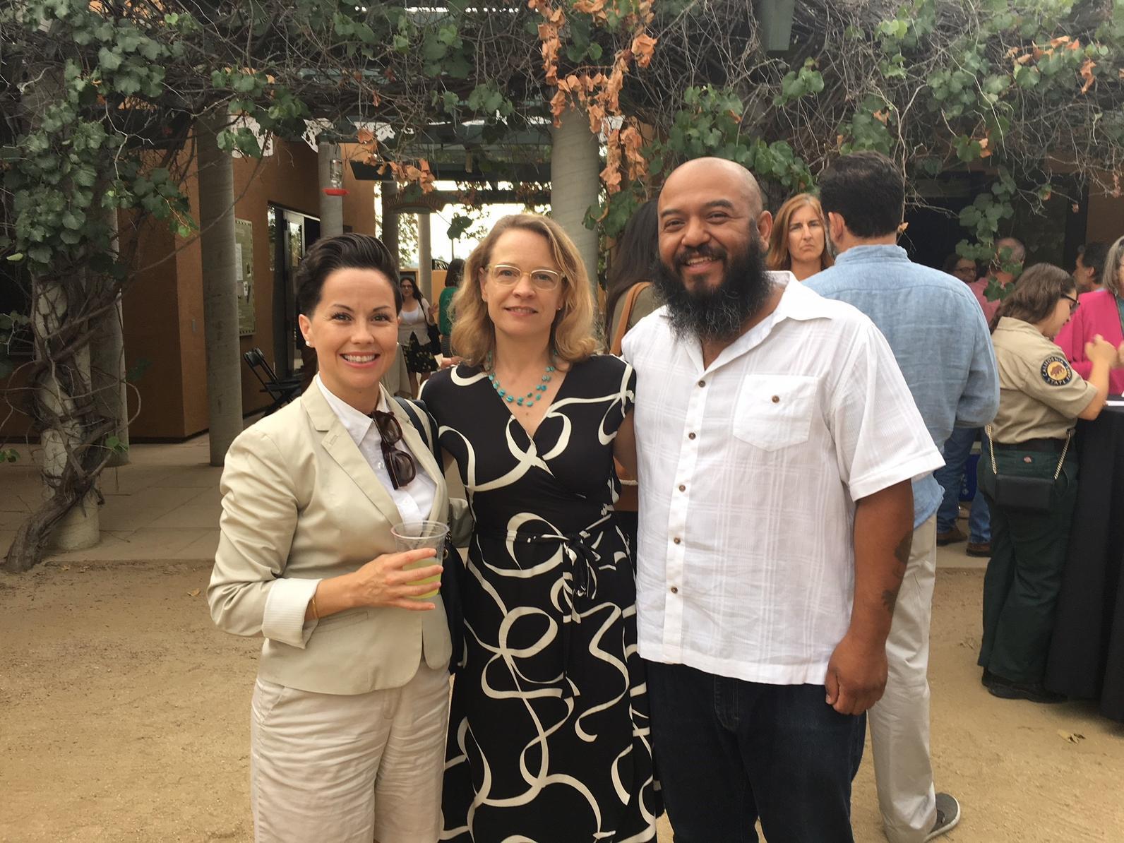 Viviana Franco (From Lot to Spot), Sarah Rose, and Marcos Trinidad